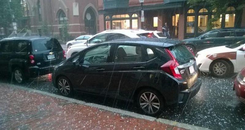 Boston Hail Damage Repair