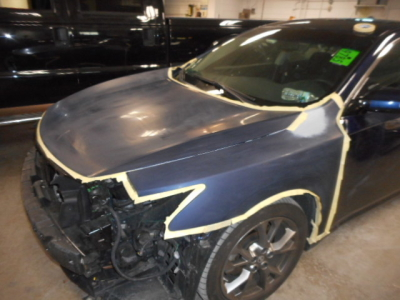 Nissan Maxima Auto Body Repair By Allston Collision