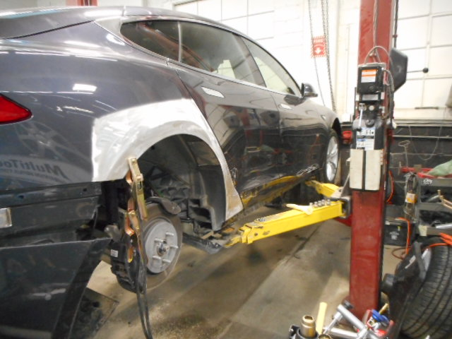 Tesla Auto Body Repair In Boston Ma