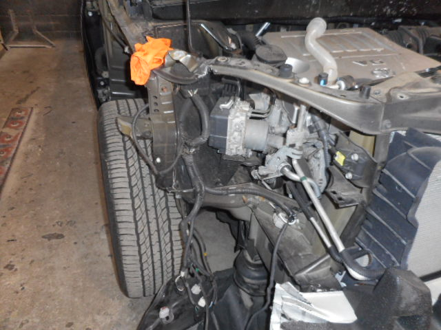 2012 Toyota Highlander - Accident Repair Work in Progress