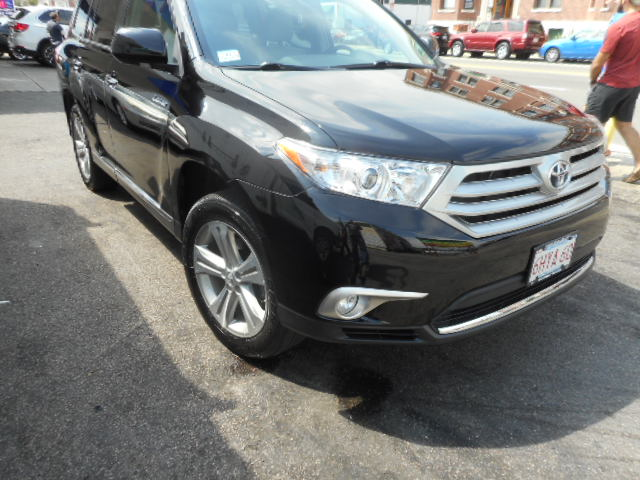 2012 Toyota Highlander - After Front Right End Damage - Boston, MA