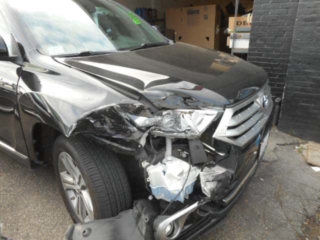 2012 Toyota Highlander - Before Repairs by Allston Collision Center