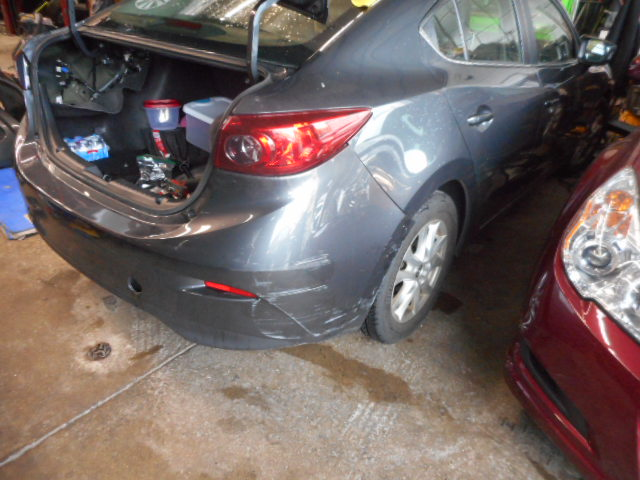2015 Mazda 3 - Collision Repair - Before Photo