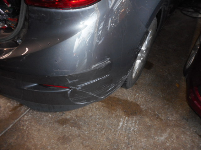2015 Mazda 3 - Collision Repair - Before Close-Up of Bumper