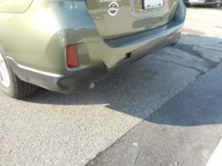 2016 Subaru Outback - Rear End Damage Before Repairs by Allston Collision Center