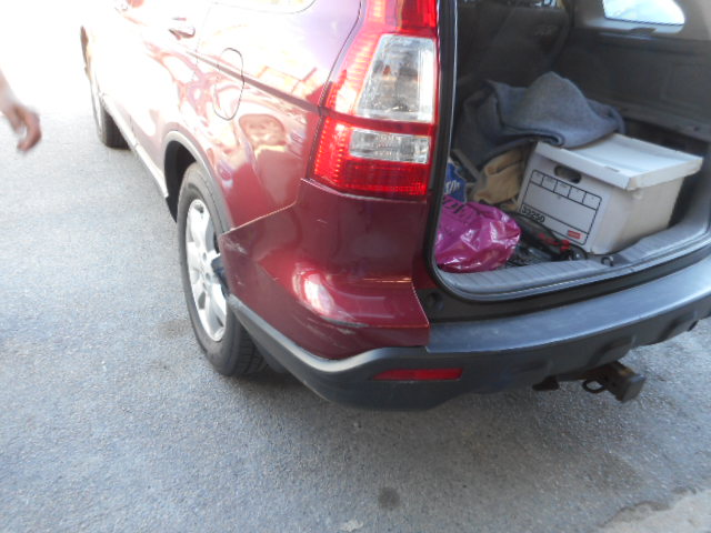 2012 Honda CRV - Rear End Collision Repair - After Photo
