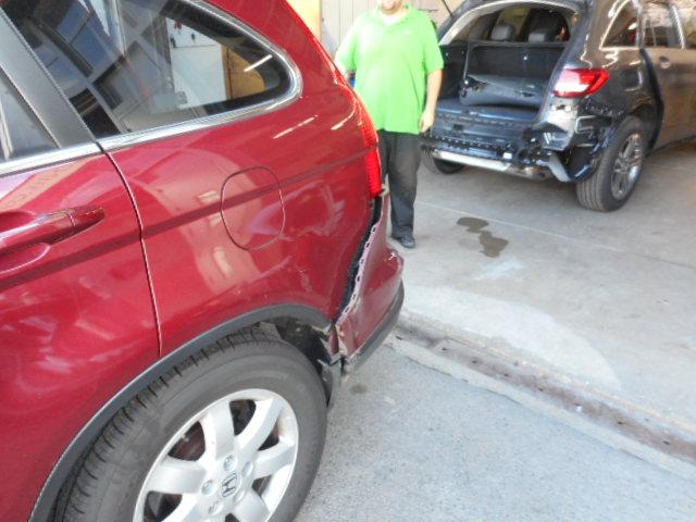 2012 Honda CRV - Collision Repair - Before