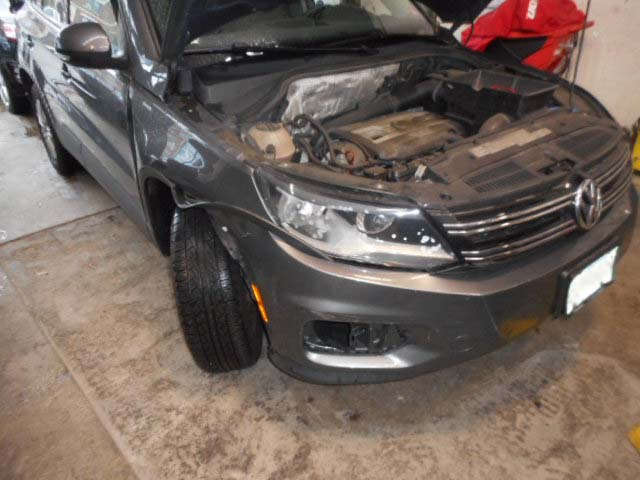 2012 VW Tiguan - Collision Repair - Before Photo