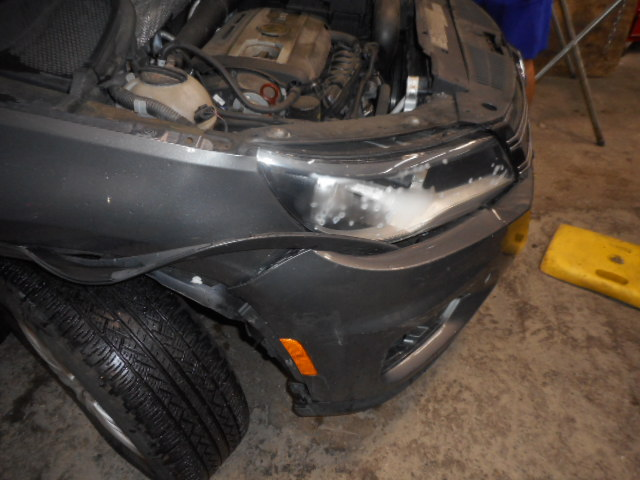 2012 VW Tiguan - Front-End Collision Repair - Before Photo