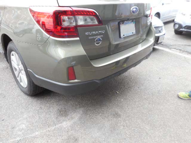 2016 Subaru Outback Rear-End After Repairs by Allston Collision Center