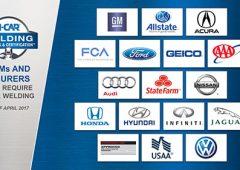 icar certification auto body repair high strength steel bronze