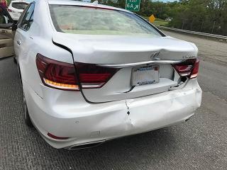 2017 lexus lx with accident damage