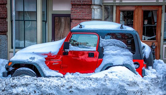 winter driving in boston, ma