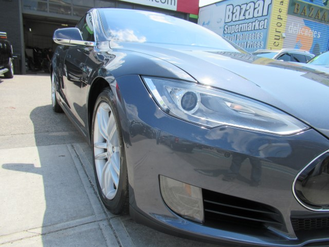 2015 Tesla 75 collision repair bumper