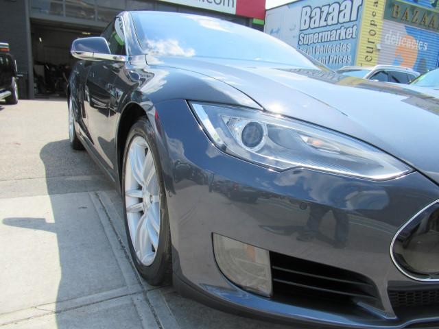 2015 Tesla 75 collision repair bumper