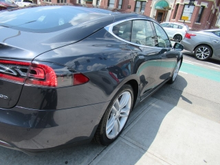 2015 Tesla 75 auto body repair finished restoration