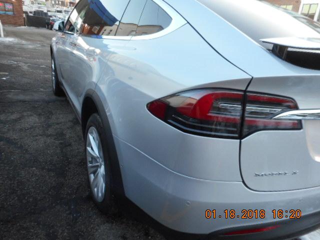 2016 Tesla X auto body work completed