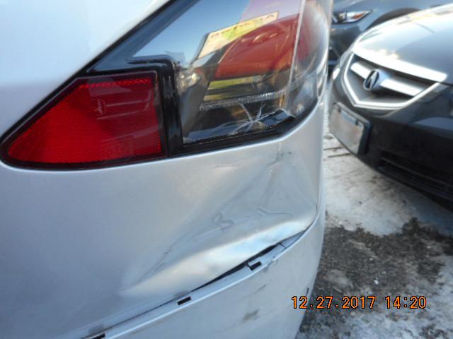 2016 tesla x before rear end auto body repair