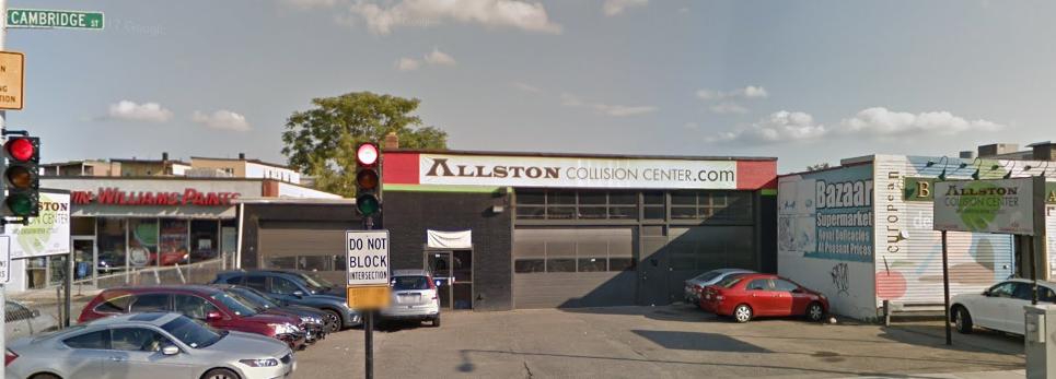 allston collision center boston auto body shop