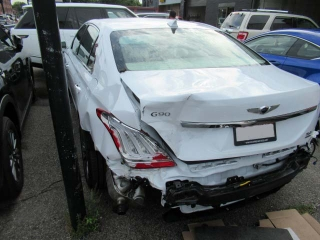 hyundai genesis g90 rear end collision repair