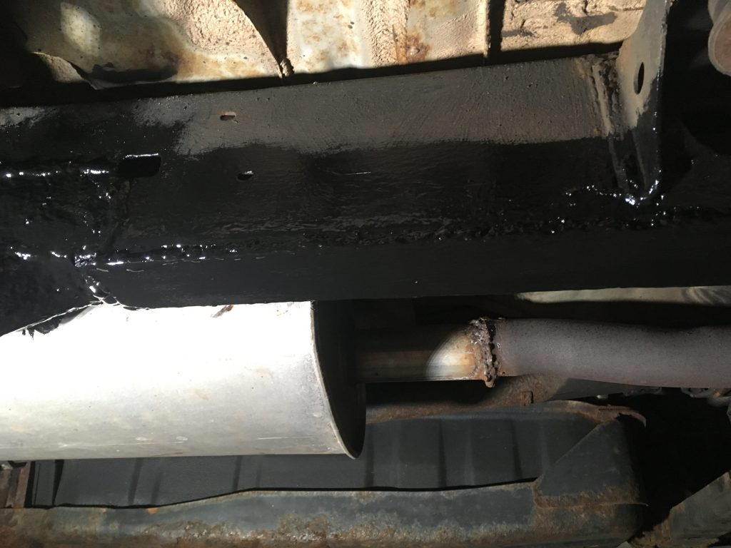 automotive rust repair after restoration
