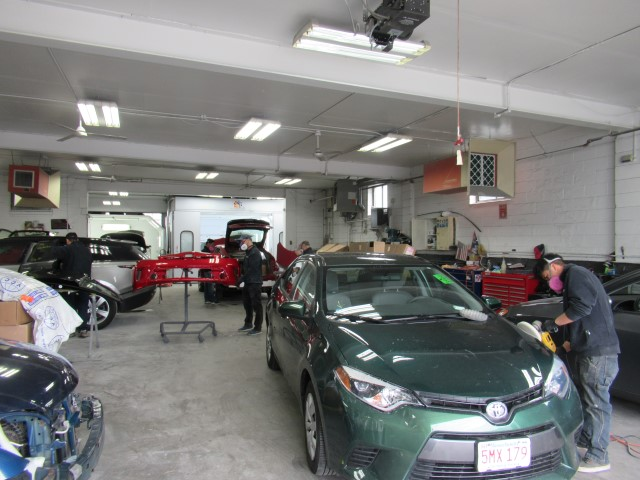 toyota auto body repair